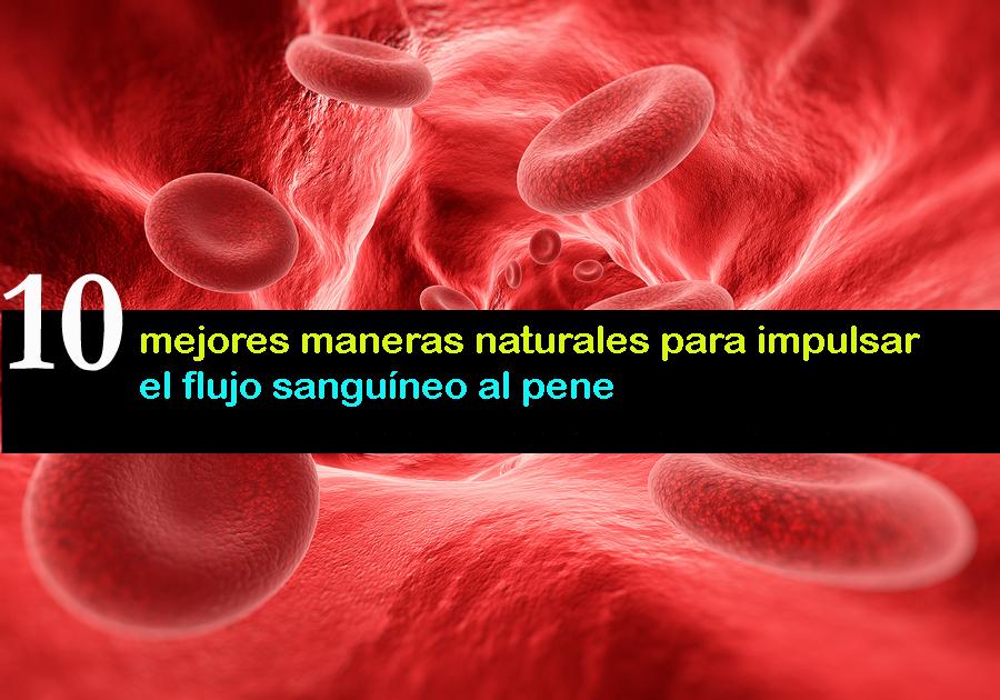 10 mejores maneras naturales para impulsar el flujo sanguíneo al pene