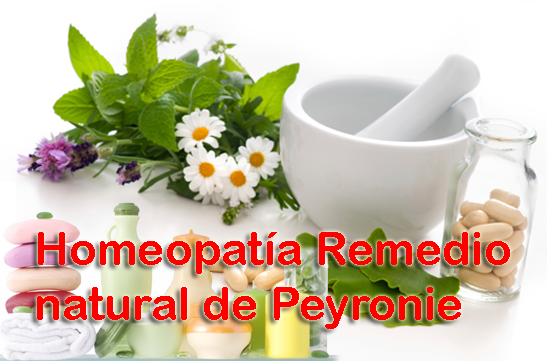 Homeopatía Remedio natural de Peyronie