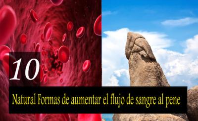 10 mejores formas naturales de aumentar el flujo sanguíneo al pene para mejorar la fuerza y erección