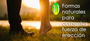 11 formas naturales para fortalecer el tamaño del pene y aumentar la fuerza de la erección