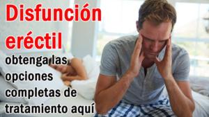 Disfunción eréctil: obtenga las opciones completas de tratamiento aquí