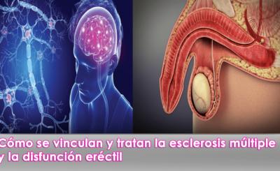 vinculan y tratan la esclerosis múltiple y la disfunción eréctil