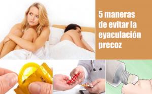 5 maneras de evitar la eyaculación precoz sin medicamentos